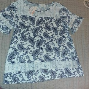 NWT! Siren Lily Top